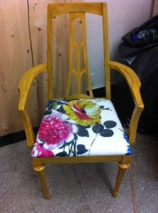 Vintage Knetchel Armchair