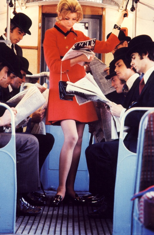 Reading on the Tube!